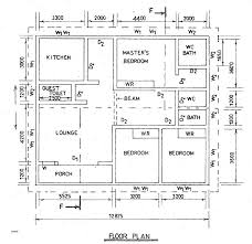 plans slab on grade floor plans inspirational house plan technical drawing paper one story