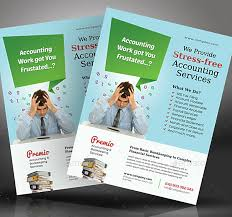 Services Flyer 15 Accounting Bookkeeping Services Flyer Templates Psd Ai