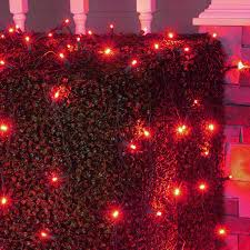 Christmas Net Lights Amazon Com Set Of 100 Led Red Net Lights Christmas Net