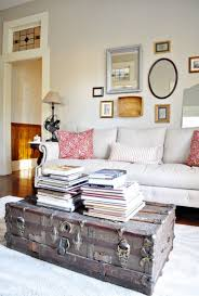 rustic charm furniture. Old Trunk Coffee Table Brings Some Rustic Charm To A Living Room Furniture E