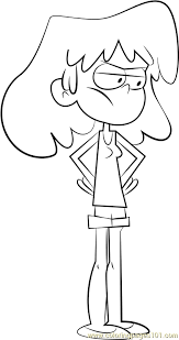 Lori Loud Coloring Page Free The Loud House Coloring Pages