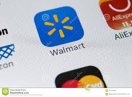 Walmart Application Walmart Application Icon On Apple Iphone X Screen Close Up