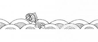 魚 波イラストなら小学校幼稚園向け保育園向けのかわいい無料