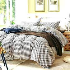 cotton plaid sheets flannel