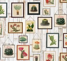 <b>Cactus Wall Art</b>   Tres Tintas Barcelona   Design Wallpapers