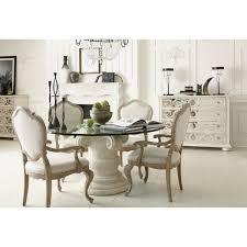 Image Dining Table Indoor Lighting Luxe Home Philadelphia Bernhardt Furniture Campania Round Dining Set