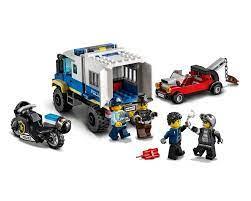 Đồ chơi LEGO City Xe Cảnh Sát Vận Chuyển Tội Phạm 60276 - Lắp ghép, Xếp  hình