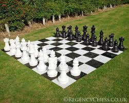 garden chess set. Giant Luxury Garden Chess Set A