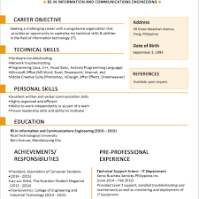 Resume Template Jobstreet Therpgmovie
