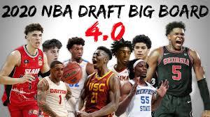 2020 NBA Draft Big Board 4.0