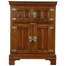 antique oak furniture. Perfect Oak Victorian 1880u0027s Antique Oak Kitchen Pantry Ice Box Refrigerator Signed  Alaska On Furniture A