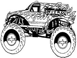 Small Picture 116 best Colour Pages Monster Truck images on Pinterest Monster