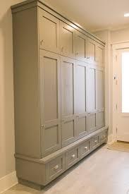 Built In Mudroom Mudroom Lockers Four Chairs Furniture Mudrooms Pinterest