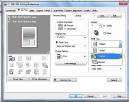 Download konica minolta bizhub 164 drivers for windows 7, win 8, win 10 and vista,xp. How To Set Up 2 Sided Printing And B W Defaults On Your Printer Or Mfp