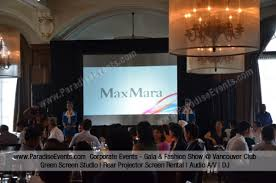Wedding Monogram GoboLights Projects On The Wall Paradise Gobo Projector Rental Vancouver