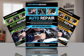 Auto Repair Flyer Auto Repair Flyer Design