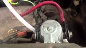 solenoid bypass youtube  at 1978 International Truck Engine Size 345 Starter Wiring Diagram