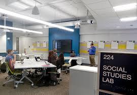 Stateoftheart Social Studies Lab Opens Penn State University Mesmerizing Penn Furniture Scranton Pa Remodelling