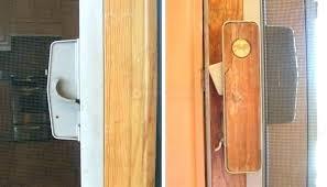 pella sliding door repair latch