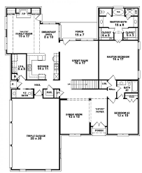 Small Four Bedroom House Plans 4 Bedroom House Plans 1 Story 2017 Alfajellycom New House
