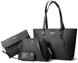 ELIMPAUL <b>Women</b> Fashion Handbags Tote Bag Shoulder Bag <b>Top</b> ...