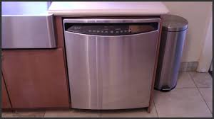 Ge Dishwahers Ge Profile Dishwasher Maintenance Youtube