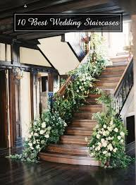 the 25 best wedding staircase decoration ideas
