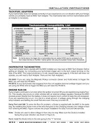 msd 7al 2 wiring tachometer wiring diagram technic msd 7222 7al 2 ignition control installation user manual page 6 16msd 7al 2 wiring tachometer