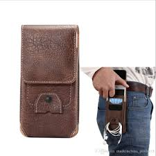 universal holster belt clip waist men flip pu leather cover bag horizontal vertical mobile phone case for iphone 7 6 6s plus galaxy s8