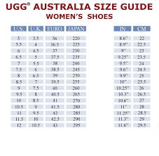 Uggs Shoe Size Chart Www Bedowntowndaytona Com