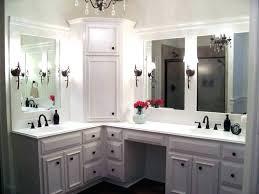 linen closet in bathroom. Corner Linen Cabinet For Bathroom Custom Vanity With Matching Built . Closet In