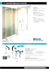 shower door parts bottom guide shower door bottom track replacement sliding barn twin roller shower door