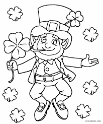 Free leprechaun coloring page printable. Free Printable Leprechaun Coloring Pages For Kids