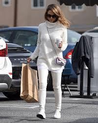 jessica alba white leather
