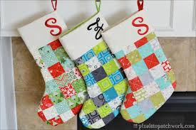 Free Quilted Christmas Stocking Pattern - Best Dresses Collection ... & From Pixels To Patchwork Tgiff Quilted Christmas Stockings Free Quilted  Christmas Stocking Pattern Free Quilted Christmas Adamdwight.com