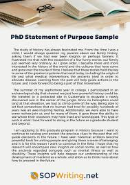 Examples Of Statement Of Purpose Help With Statement Of Purpose For Phd