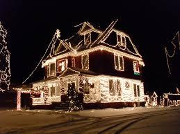 Outside Christmas Lights Christmas Lights Outside Loop Background Of Hexagons Like