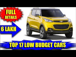 new car launches low priceVery Low Cost Upcoming Cars In India 2017