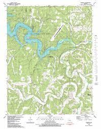 toronto topographic map mo  usgs topo quad a