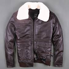 2018 men black brown pilot leather jacket europe plus size l genuine thick cowhide russian aviator