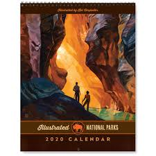 National Parks Posters Anderson Design Group 2020 Kai Carpenter National Parks Wall Calendar Original Artwork By Kai Carpenter Anderson Design Group