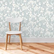 Blue Glenmara Mica Wallpaper