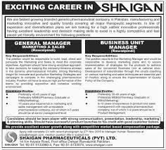 jobs in shaigan pharmaceuticals pvt limited rawalpindi