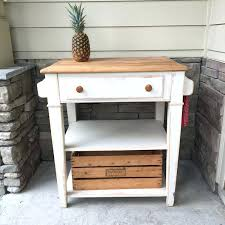 butcher block shelves kitchen island pub table with drawer storage refinished furniture in ming countertop open shelving