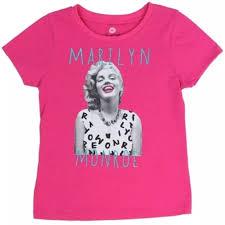 Monroe Size Chart Marilyn Monroe Kids Shirt Pink Size 6 Nwt