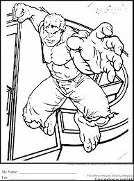 Small Picture Hulk Coloring Printouts Coloring Coloring Pages