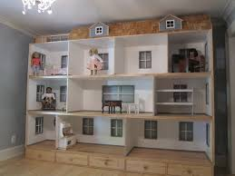 American Girl Doll House Natural Woodworks - Dolls house interior