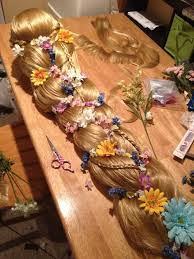 how to do rapunzel wig a diffe way this is soo pretty
