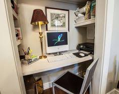 closet to office. limited space in your house get an office from a small closet design ideas pictures remodel and decor page 2 to