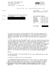 Best Photos Of Edd Appeal Letter Sample Commendation Employee